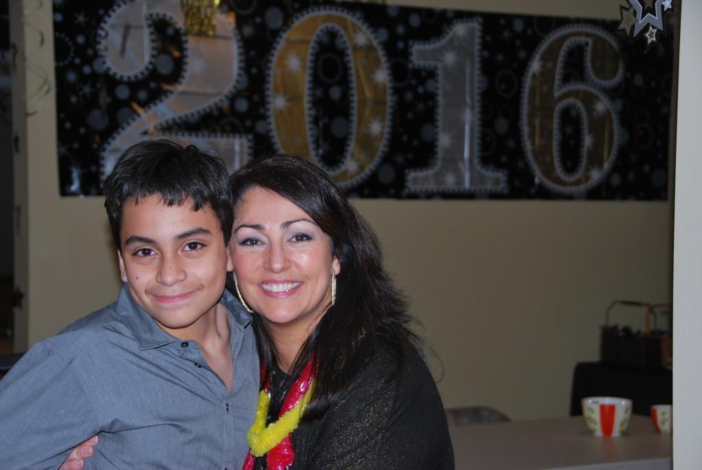 Maria Malone & son
