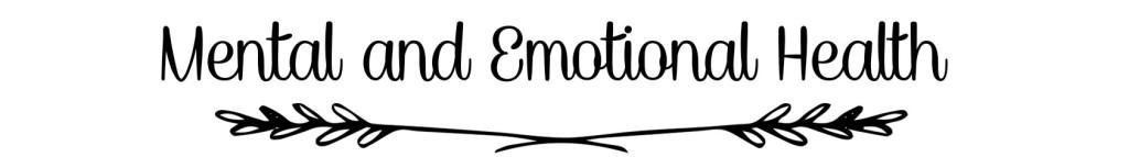 Mental&EmotionalHealth