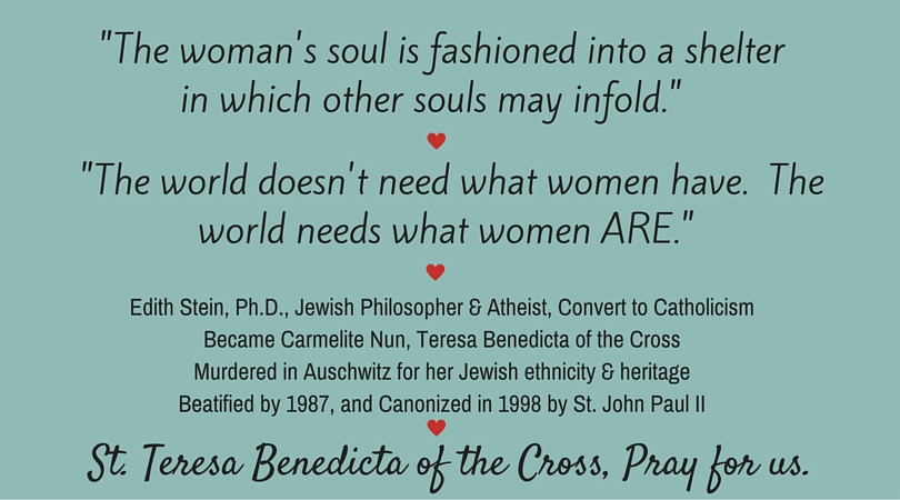 The womans soul-Edith Stein
